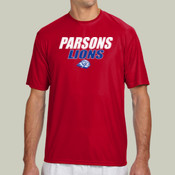 ParsonsLions - N3142 A4 Short-Sleeve Cooling Performance Crew Neck T-Shirt