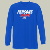 ParsonsLions - NB3165 A4 Youth Long Sleeve Cooling Performance Crew Shirt