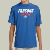 ParsonsLions - NB3142 A4 Youth Shorts Sleeve Cooling Performance Crew Shirt